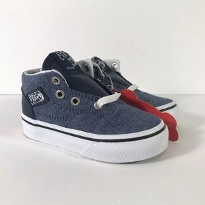 Vans Half Cab (C&L) Chambray Blue Sneakers